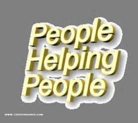 people helping