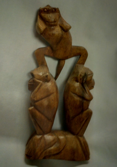 3 wise monkeys