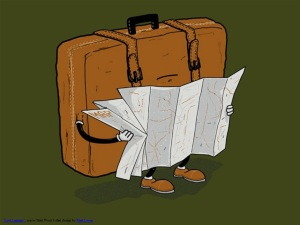 """Lost Luggage"", a new Shirt.Woot t-shirt design by Matt Leyen."